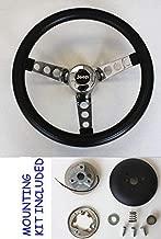 1976-1995 Jeep CJ CJ5 CJ7 YJ Classic GRANT Black Steering Wheel 13 1/2