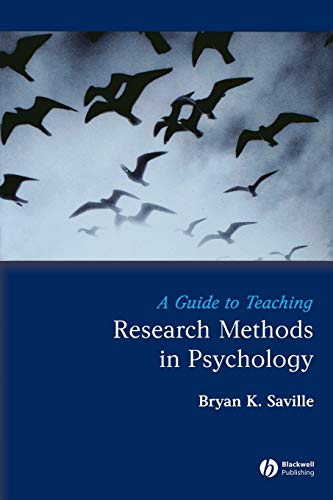 A Guide to Teaching Research Methods in Psychology