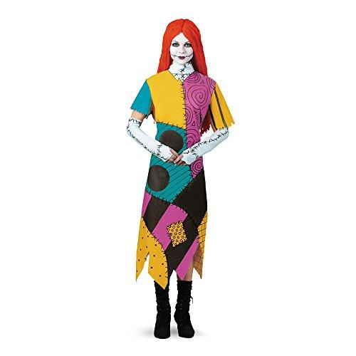 Disguise Womens Tim Burtons The Nightmare Before Christmas Sally Classic Costume, 12-14