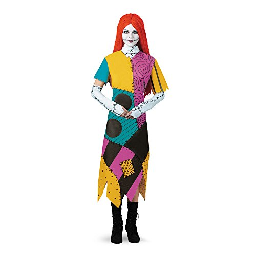 Disguise Klassisches Damenkostüm The Nightmare Before Christmas Sally - Mehrfarbig -