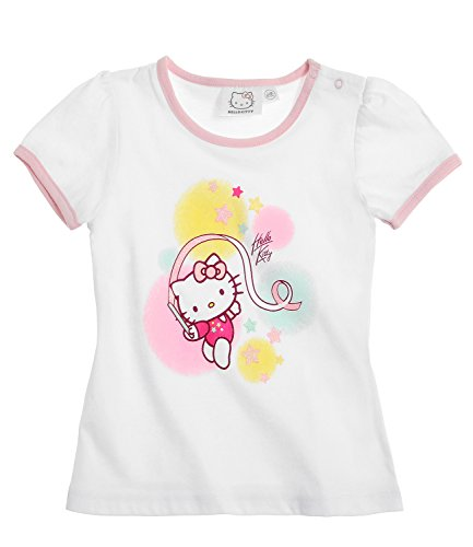 Hello Kitty Babies Maglietta manica corta - bianco - 3M