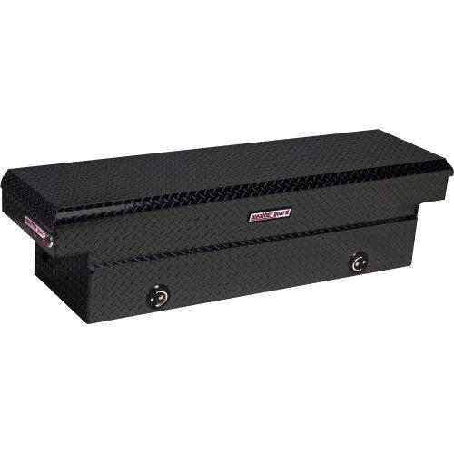 Weather Guard 127502 Black Aluminum Saddle Box