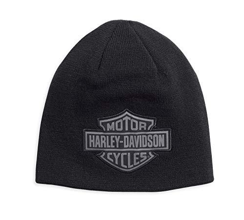 HARLEY-DAVIDSON Reversible Logo Knit Hat Mütze, 99493-17VM