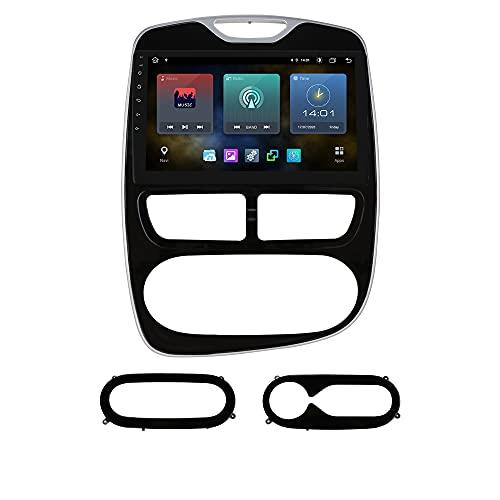Ossuret 10.1 pouces écran tactile autoradio stéréo Android 10 Navigation GPS compatible avec Renault Clio 2012 2013 2014 2015 2016 Support multifonction