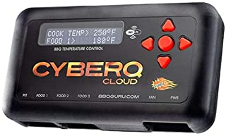 CyberQ BBQ Temperature Controller & Digital Meat Thermometer for Big Green Egg, Kamado Joe, Weber, and Ceramic Grills