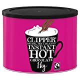 Clipper Fairtrade Instant Hot Chocolate, 1kg