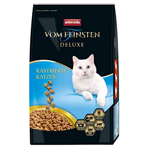 Animonda vom Feinsten Deluxe Trockenfutter für Neuterkatzen Sparpack 2 x 10 kg, zur Gewichtskontrolle und gesunde Urintrakt