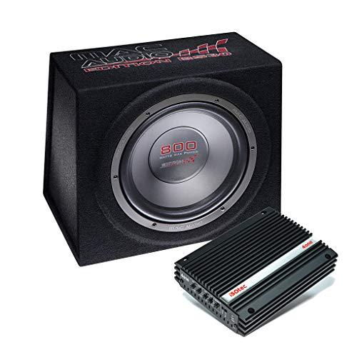 I-SOTEC Auto/KFZ Plug & Play Upgrade Soundsystem (Subwoofer+Endstufe) BS30 kompatibel mit Porsche - Mediadox
