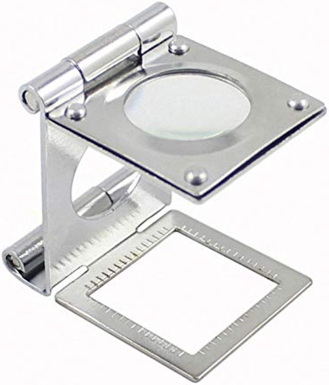 ventas en linea SXY888 Lupa Plegable Plegable Plegable de Paloma, Lente de Vidrio de 20 mm de diámetro, portátil para Lectura y Mantenimiento médico  comprar ahora