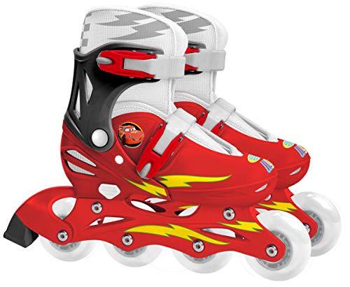 STAMP - DISNEY - CARS - J892302 - Kinderfahrrad und -fahrzeug - Verstellbare Inline-Skates - Cars 2 - Größe 30-33