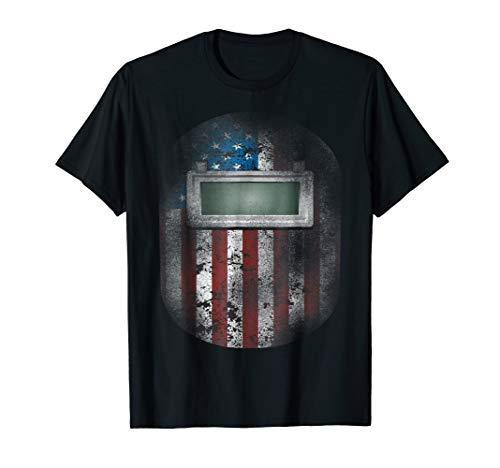 Welder Shirt American Welding Hood Gift TShi For Welder Dads