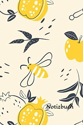 Notizbuch: Imker Notizbuch | 6x9 Zoll DIN A5 | 120 Seiten Punktraster | Bienen Notizheft | Bienenzüchter Tagebuch | Bienenhalter Notebook