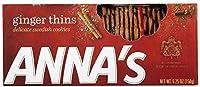Anna's Thins Ginger 5.25 oz Boxes [並行輸入品]