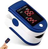 TRONMA Pulsoximeter, Fingeroximeter Sauerstoffsättigung Messgerät Messen Pulsoxymeter für die Messung des Puls und der Oximeter am Finger