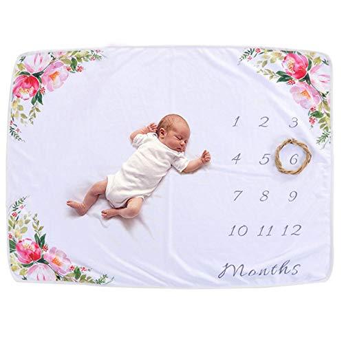 PZNSPY Babydeken Neonato Cartoon Foto Deken Sprei Sprei Bankspei voor pasgeborenen Fotografie 102 x 70 cm A1.