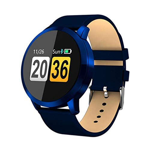 QCHNES Fashion Smartwatch, Message Reminder Smartwatches, wasserdichte Smartwatches, Heart Rate Tracker Sportuhren Für Android Und IOS