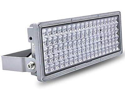 100W LED Flood Light Outdoor, Hugging LED Flood Lights, IP67 Waterproof, 6500K Cold White, 10000lm Super Bright Outdoor Flood Light for Garage, Porch, Garden,Warehouse (100watt)