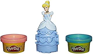 play doh disney princess Cinderella - sparkle mix 'n match