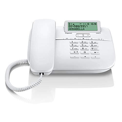 Gigaset DA611 Teléfono Fijo, Blanco