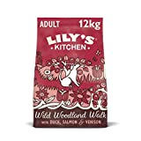Lily's_Kitchen Duck, Salmon & Venison Natural Grain Free Complete Adult Dry Dog Food (12 kg)
