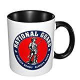 United States National Guard Mug Ceramic Coffee Cup Office Tea Cup Milk Cup Fun Cup