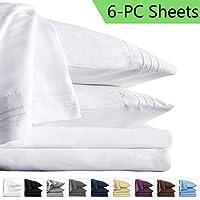 6-Piece Lianlam Queen Bed Sheets Set