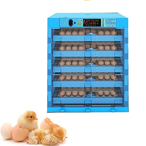 Technics Incubato Incubadora de Huevos Automatica de Huevos 320 Huevos con Pantalla Digital Para Incubadora con Control de Temperatura de Huevos, Para Huevos, Huevos de Pato, Huevos de Fuego, Etc