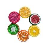 Jushi One-Pack Obst Kristallschlamm Lehm DIY Transparent Obst Schlamm Spielzeug Lern Kinder Geschenke für Kinder zufällige Farbe
