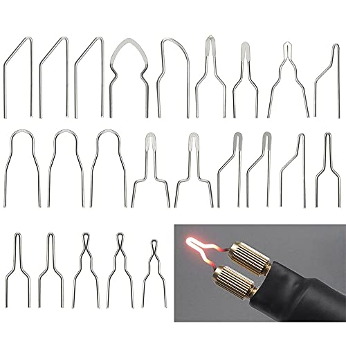QUCUMER 23 Pirografo filo set punte pirografie per stazione di saldatura da 30-50 W, per pirografia, punte di ferro professionali, per pittura, per pirografia punta di ricambio per legno e pelle