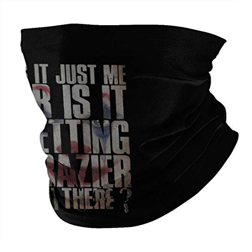 Top Wholesale is It Just Me Or is It Getting Crazier Out There Multifunctional Face Cover Headwear Neck Scarf Bandana Balaclava Tube Gaiter Stretch Snood Headband