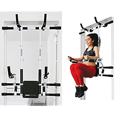 Pull Up Bars/Adjustable Portable Multi-Functional Chin Up bar/All in 1