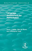 Language Assessment for Remediation (1981) (Routledge Revivals)