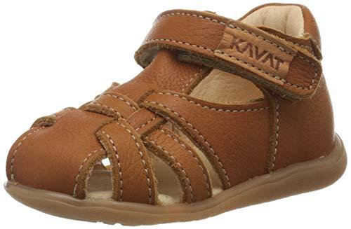Kavat Unisex Kinder Rullsand Sandalen, Braun (Light Brown), 21 EU