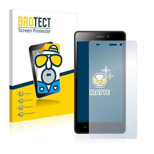 BROTECT 2X Entspiegelungs-Schutzfolie kompatibel mit Doogee Galicia X5 Pro Bildschirmschutz-Folie Matt, Anti-Reflex, Anti-Fingerprint