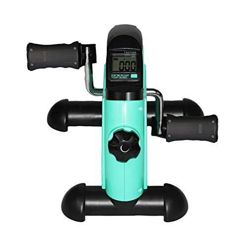 Mini-Bike Heimtrainer Bewegungstrainer Pedaltrainer Arm-und Beintrainer LCD-Monitor Einstellbarer Widerstand Fahrradtrainer Heimfahrrad Trainingsrad Trainingsgerät Fitnessgerät Trainer