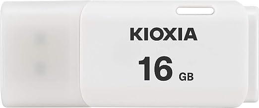 KIOXIA(キオクシア) 旧東芝メモリ USBフラッシュメモリ 16GB USB2.0 日本製 国内正規品 Amazon.co.jpモデル KLU202A016GW