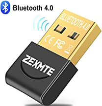 USB 4.0 Bluetooth Adapter for PC Bluetooth Dongle Receiver Wireless Transfer Compatible with Stereo Headphones Desktop Windows 10,8,7,Vista,XP