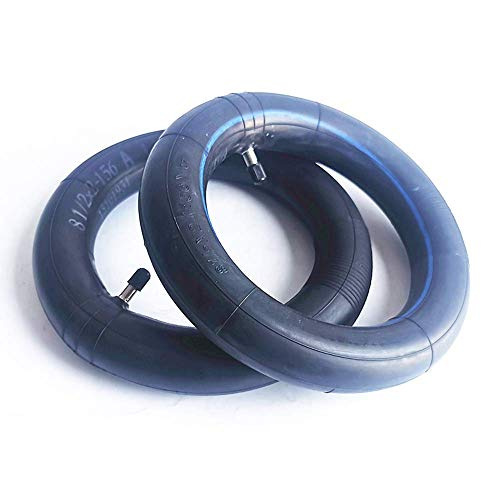 HAOJON Neumático de Scooter eléctrico, Tubo Interior Grueso de Caucho butílico de 8 1/2 x 2, Compatible con Scooter eléctrico de 8,5 Pulgadas, Utilizado para el reemplazo del Tubo Interior, 2 Pieza