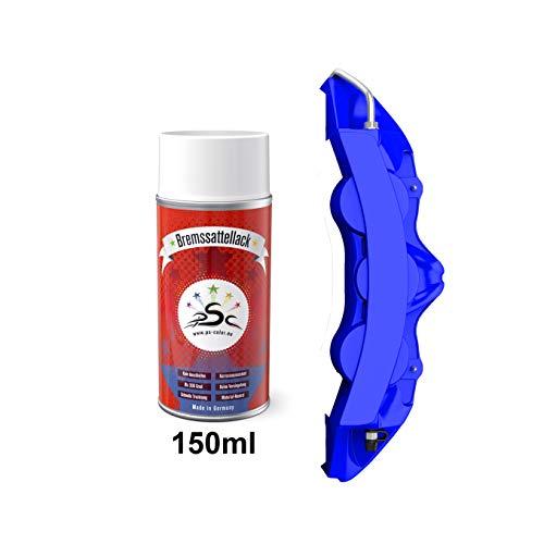 Penta Star Color Bremssattel-Lack-Farben-Sprays 150ml - Racing Rot Schwarz Gelb Blau Grün Tuning-Styling nach-um-färben von Bremmssattel Bremsklauen Metallfelgen Motor-Metall-teilen (Racing Blau)