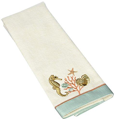 Avanti Linens Seaside Vintage Hand, Towel, Ivory