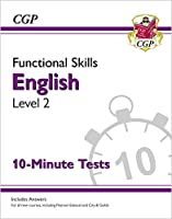 New Functional Skills English Level 2 - 10 Minute Tests (for 2020 & beyond)