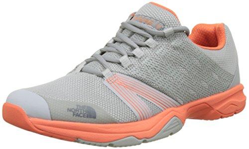 The North Face Litewave Ampere II, Zapatillas de Running Mujer, (High Rise Grey/nasturti Morning), 36 EU
