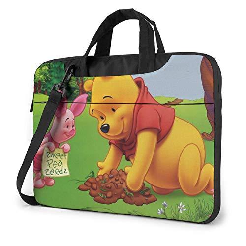 15.6 Inch Laptop Bag with Butterfly Laptop Briefcase Shoulder Menger Bag Case Sleeve