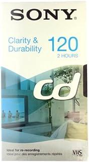 Sony E120CD Cinta de Casete Video Cassette 120 min 1 Pieza(s) - Cinta de Audio/Video (120 min 1 Pieza(s))