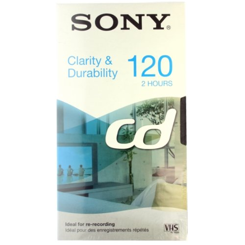 Sony E120CD Cinta de Casete Video Cassette 120 min 1 Pieza(s) - Cinta de Audio/Video (120 min, 1 Pieza(s))