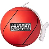Murray Sporting Goods Tetherball and Rope - Full-Size Soft Rubber...