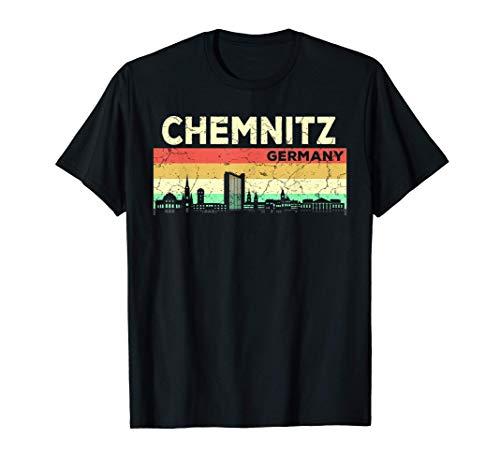 Mein Chemnitz Skyline Deutschland Heimat Stadt Souvenir T-Shirt