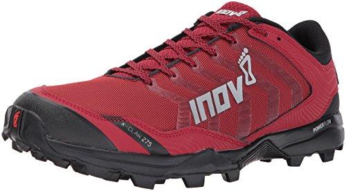 Inov-8 Men's X-Claw 275 (M) Trail Running Shoe, red/Black, 9 D US