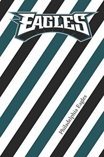 Philadelphia Eagles: Eagles Striped Notebook & Journal   NFL Fan Essential   Eagles Fan Appreciation
