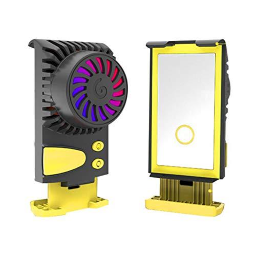 zkm Handy Kühler Kühlkissen Kaltwind Griff Lüfter Kühlkörper Für PUGB Telefon gelb